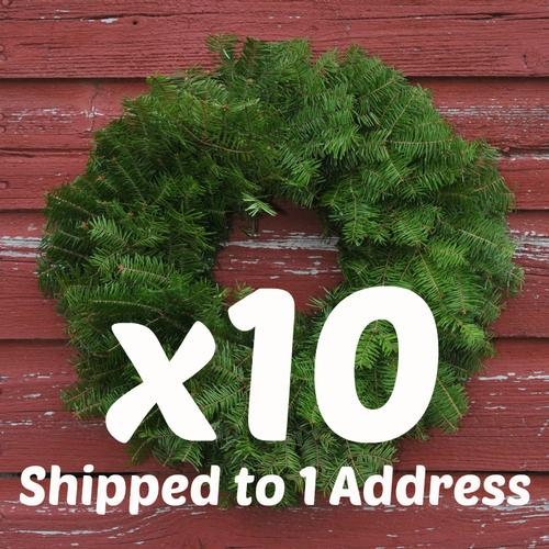 "18"" Wreaths Undecorated x10 ($13.90 each)"