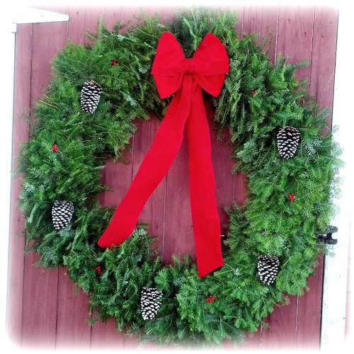 Traditional Wreath - 48 inch (Includes Oversize Shipping)