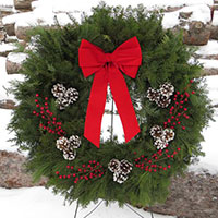 Traditional Deluxe, 30 inch - VERY POPULAR LARGE WREATH DESIGN