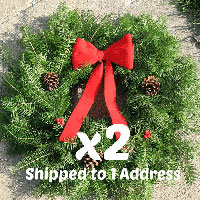 Traditional Wreaths - 18 inch ($24.50 each with this Deal)