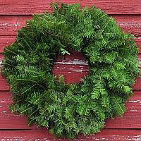 Undecorated Wreath - 36 inch (Includes Oversized Shipping)