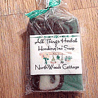 Northwoods Cottage Soap - SHIPPED WITH A WREATH IN SAME BOX