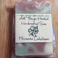 Handmade Ladyslipper Bar Soap - SHIPPED TO A SEPERATE ADDRESS